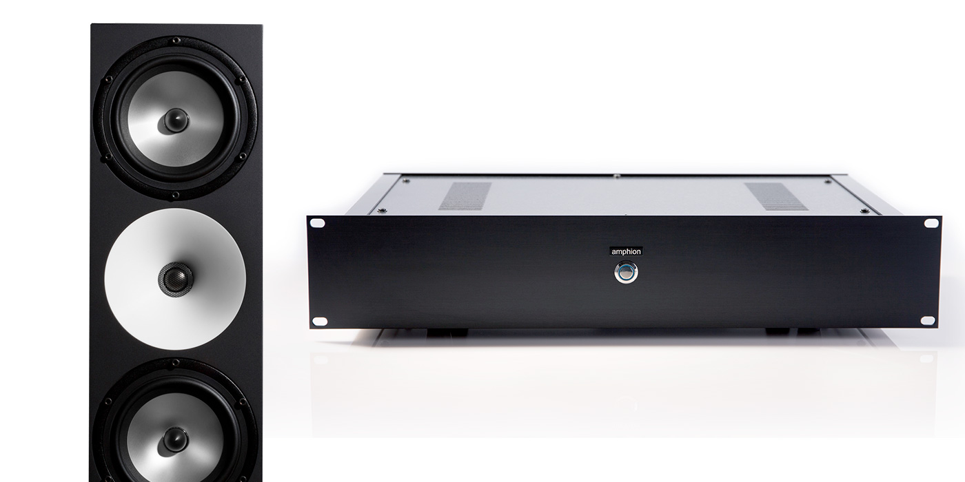 Amphion Two18 Passive Monitors and Amp500 Power Amplifier