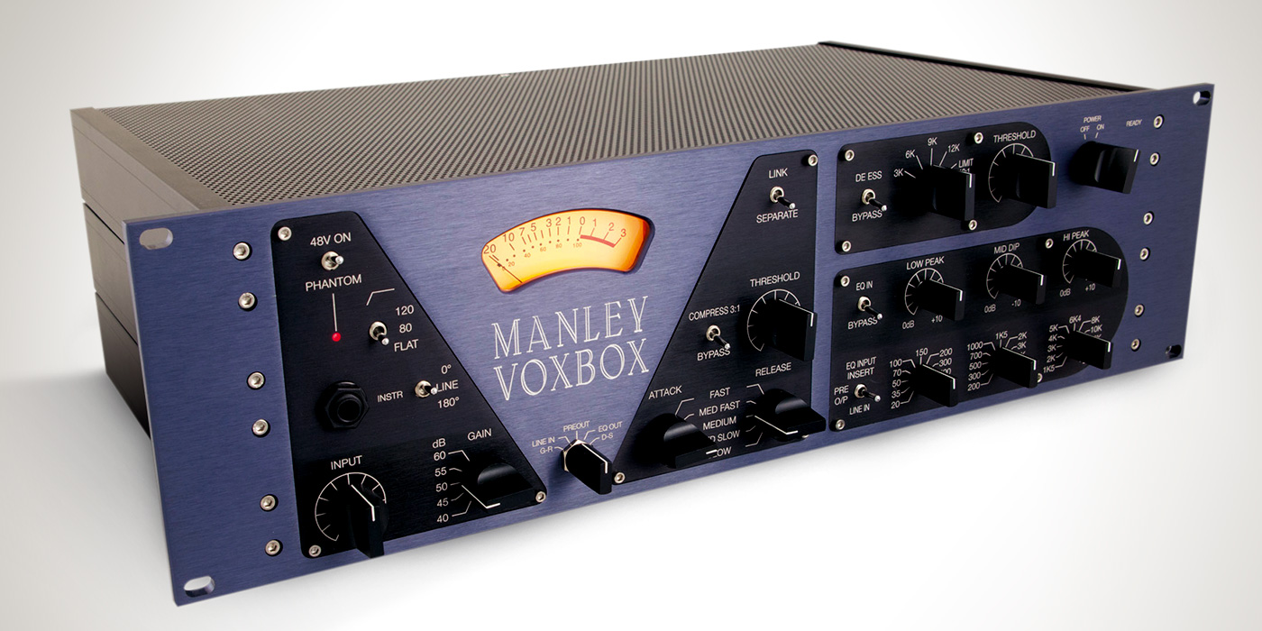 Universal Audio Manley VOXBOX Channel Strip Plug-in For UAD-2