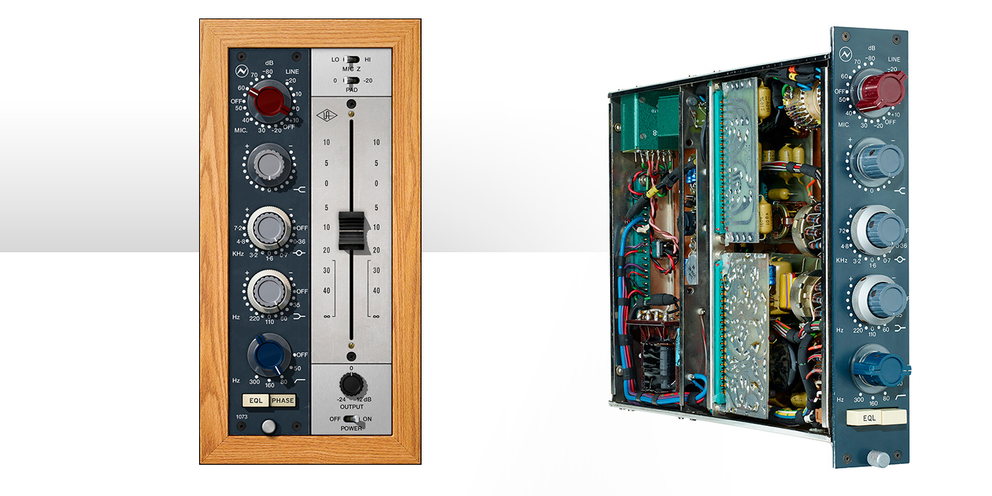Universal Audio UAD-2 Neve 1073 Preamp & EQ Plug-In Collection