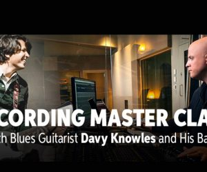 Sweetwaters Recording Master Class Blues Guitarist Davey Knowles