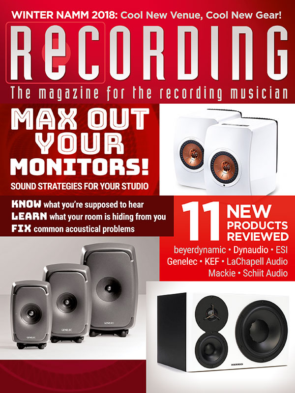 march issue of recording magazine
