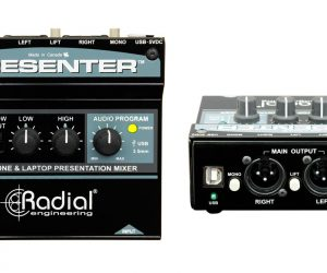 Radial's New Compact Mixer, the Presenter, Is Now Shipping