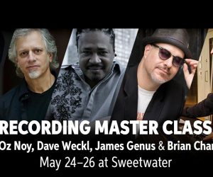 Sweetwater to Host Recording Master Class