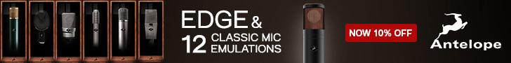 Antelope – Edge 12 Classic Mic Emulations – 10% off
