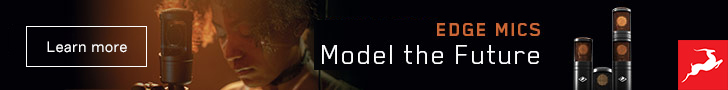 Antelope Edge Mics – Model the future