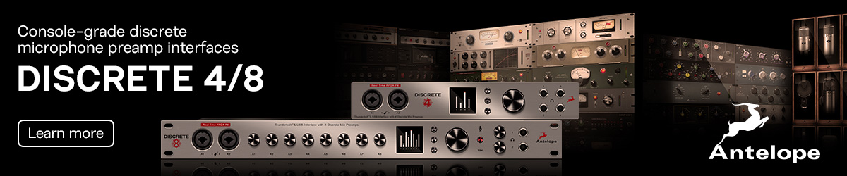 Antelope Audio Discrete 4/8