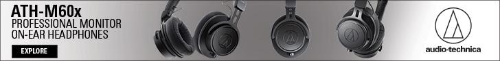 Audio-Technica ATH-M60x 728×90