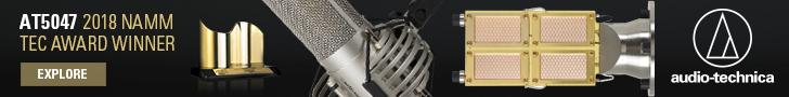 Audio-Technica AT5047 2018 NAMM Tech
