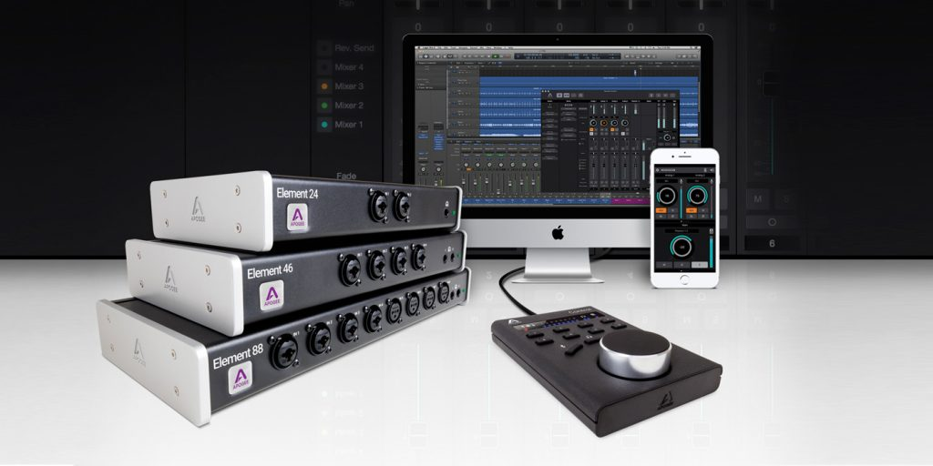 Apogee Ensemble Element Interfaces Now Integrate Apple Logic Pro X