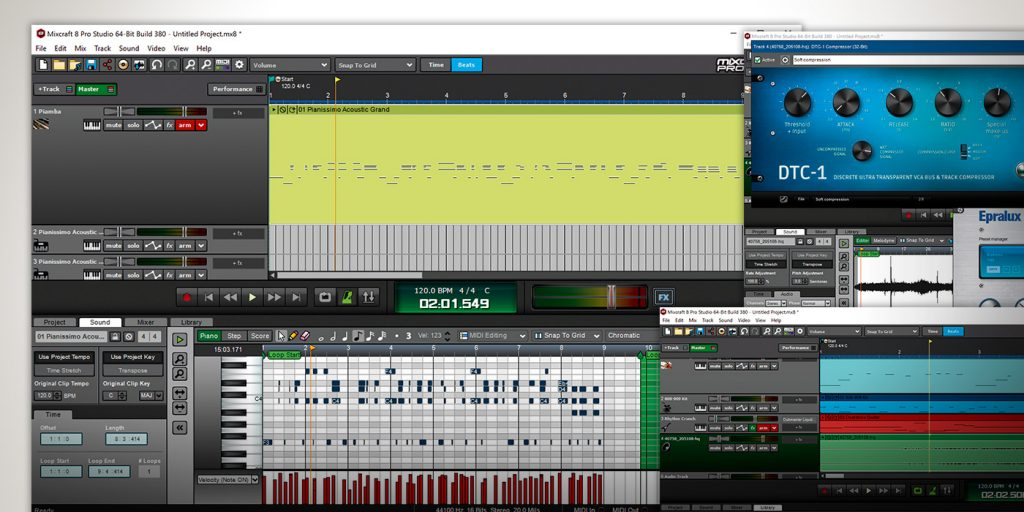 Acoustica Mixcraft Free Download Old Version