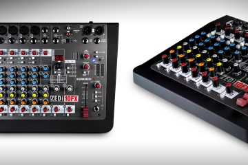 Allen & Heath ZEDi-10FX Desktop Mixer/Interface