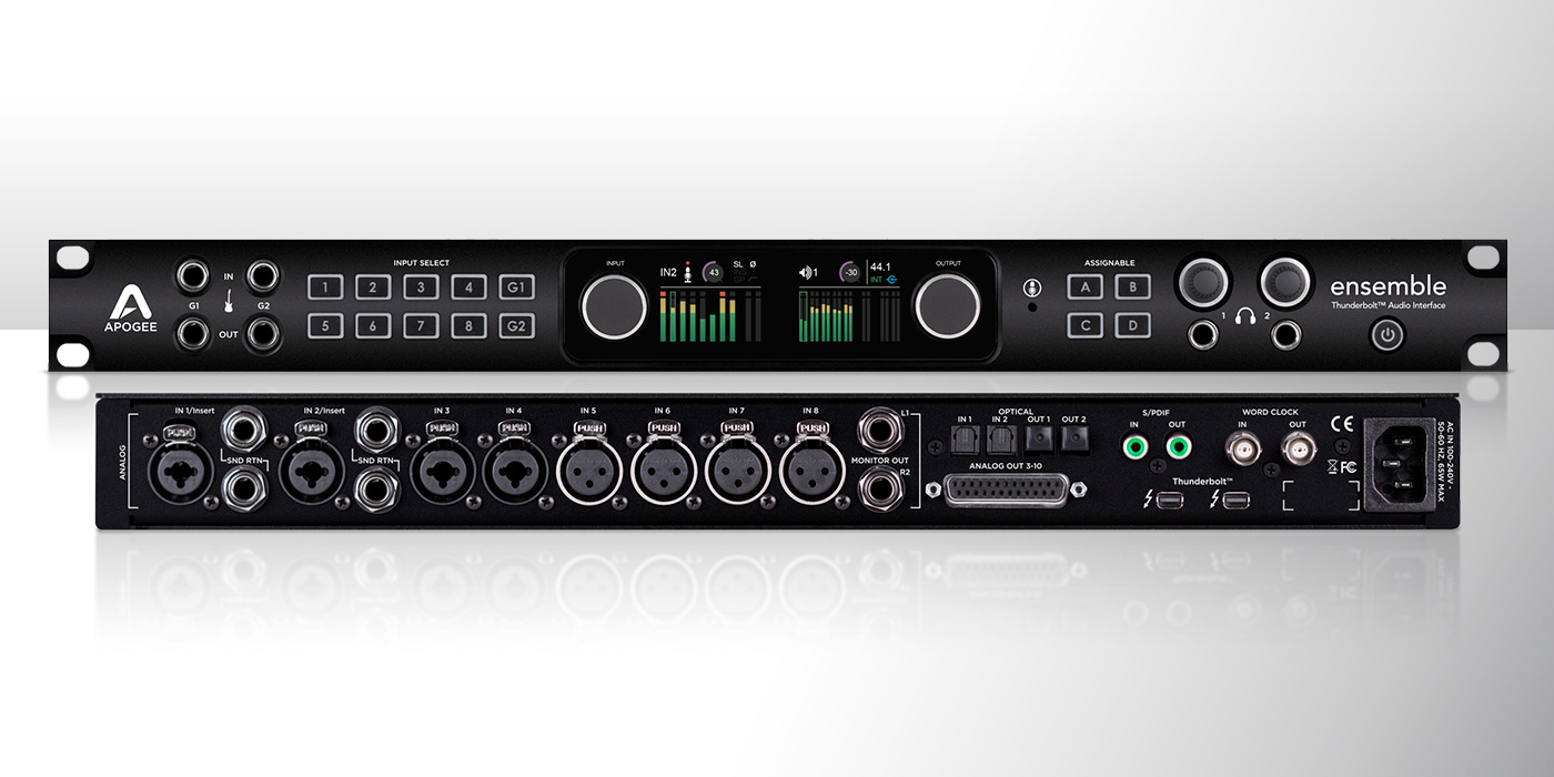 Apogee Ensemble Thunderbolt 2 Audio Interface