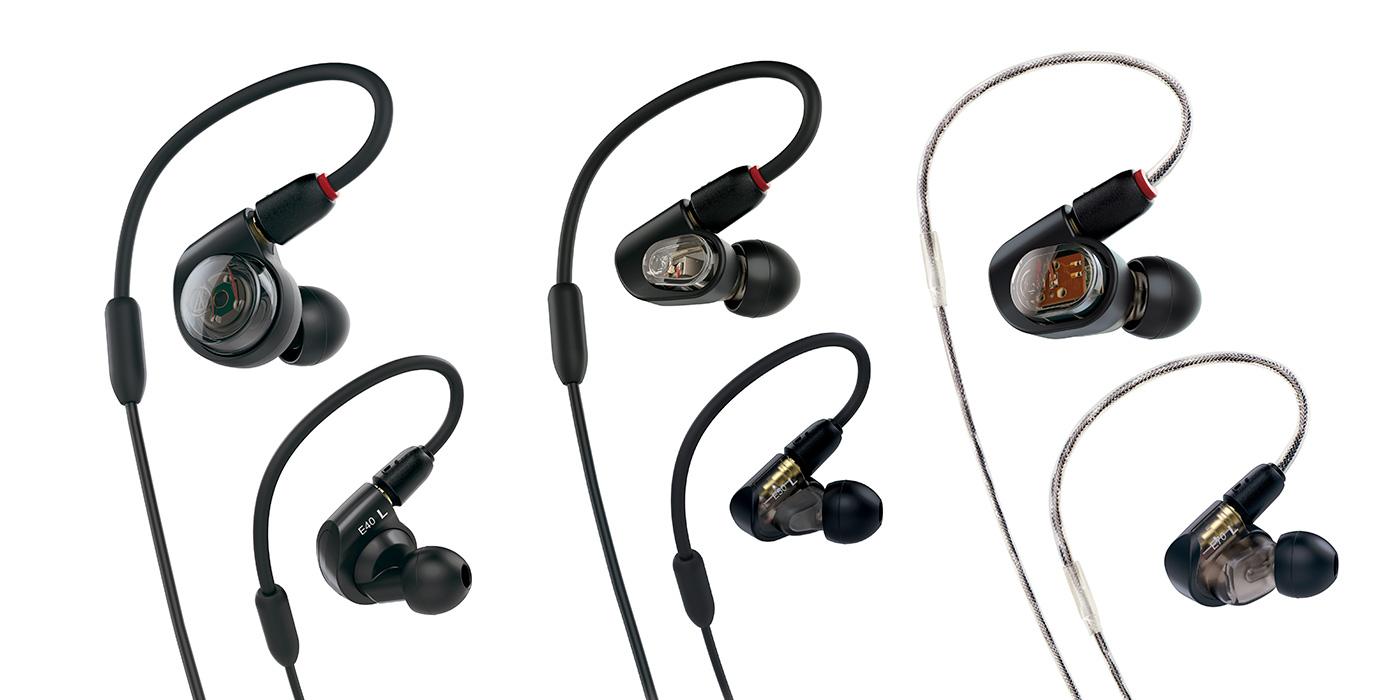 Audio-Technica ATH-E40 ATH-E50 ATH-E70