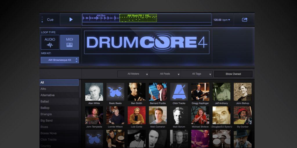 Dennis Chambers Creates Content for DrumCore 4