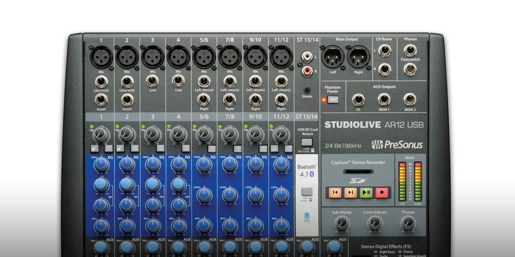 Presonus Studiolive Ar12 USB Mixer