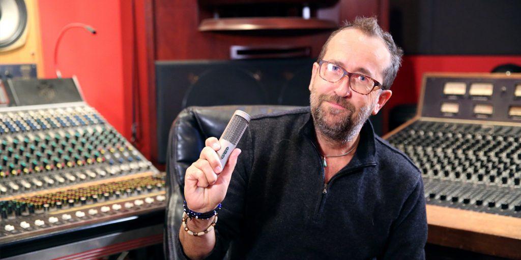 Jim Ebdon Takes Royer R-10 Ribbon Microphone on Tour