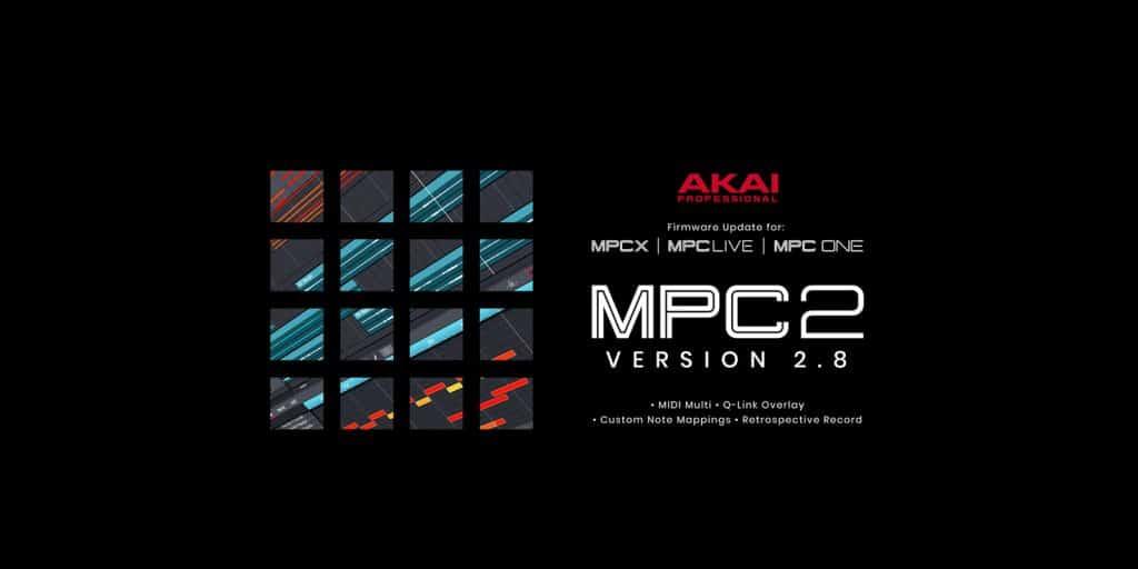 AKAI MPC 2.8 Update