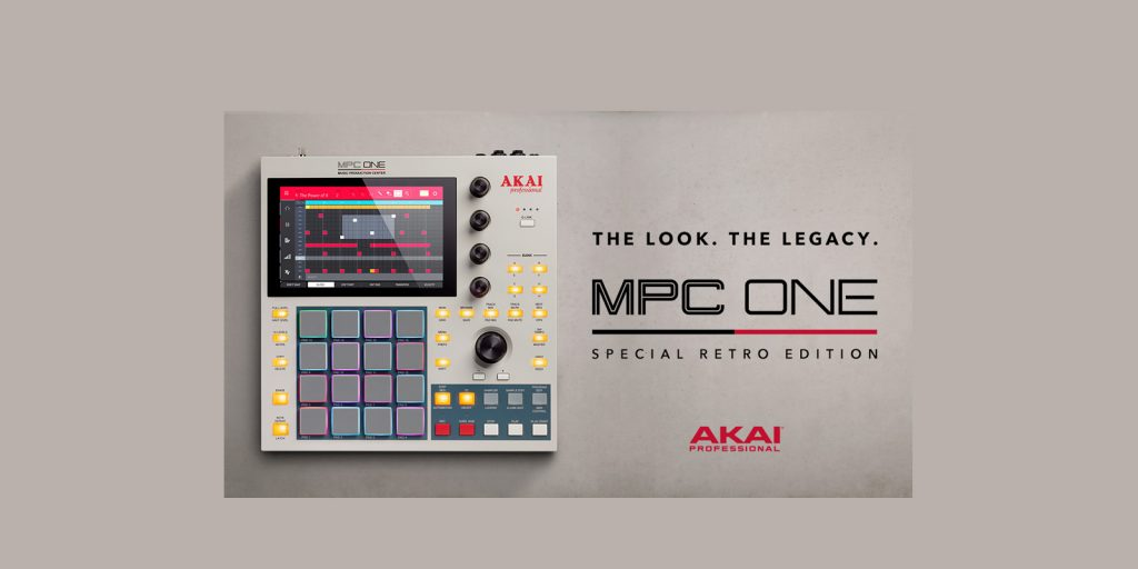 Akai Professional mpc one retro standalone