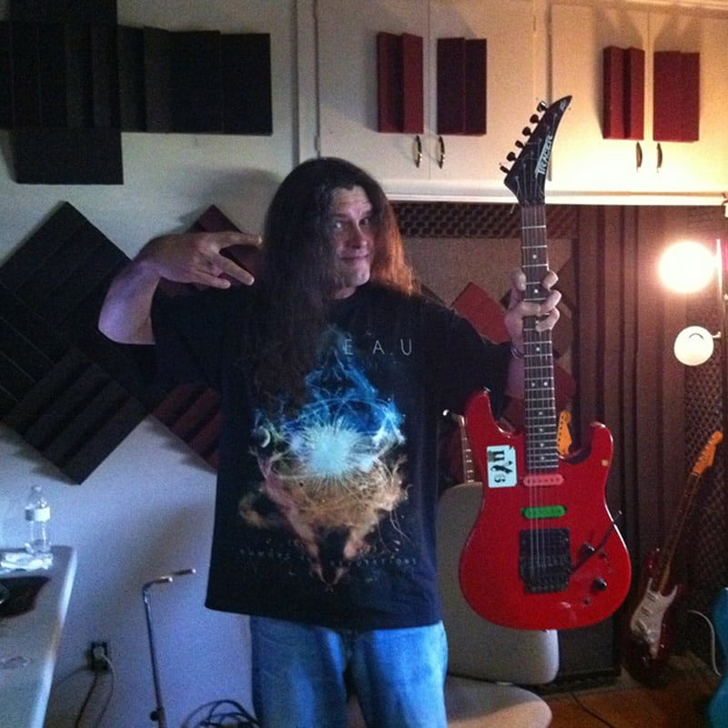Joseph Harter in studio