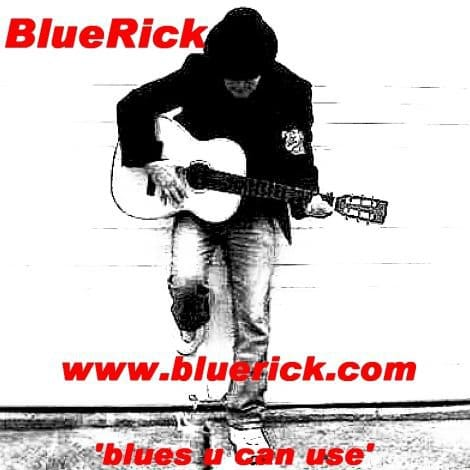 BlueRick 'blues u can use' album cover