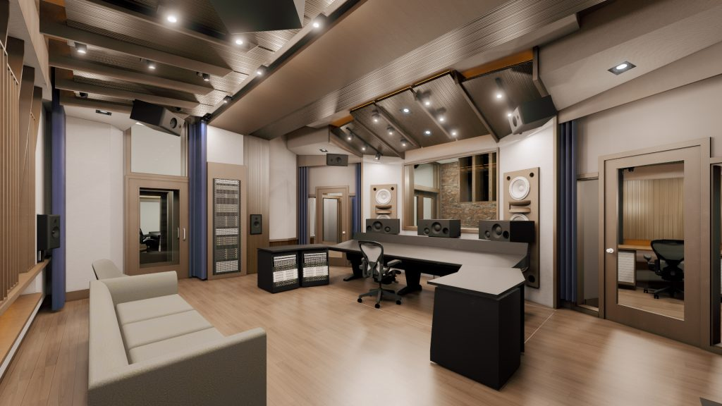 Mix with the Masters Paris Recording Studio - Control Room A