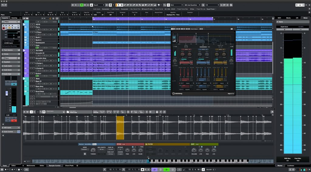 Cubase Pro 11 screen shot