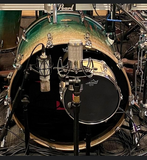 Miking Mike Portnoy's Drums with Mojave mics