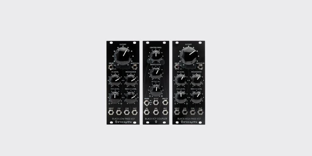 Erica Synths announces three new filter modules