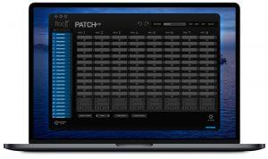 Flock Audio Patch MacbookApp Graphic