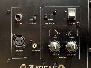 Focal Alpha 65 Evo back panel