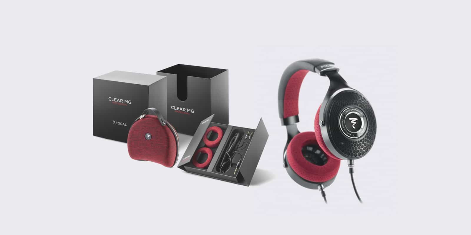 """Focal New """"Clear Mg Professional"""" Headphones"""