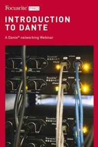 Focusrite Pro Introduction to Dante image