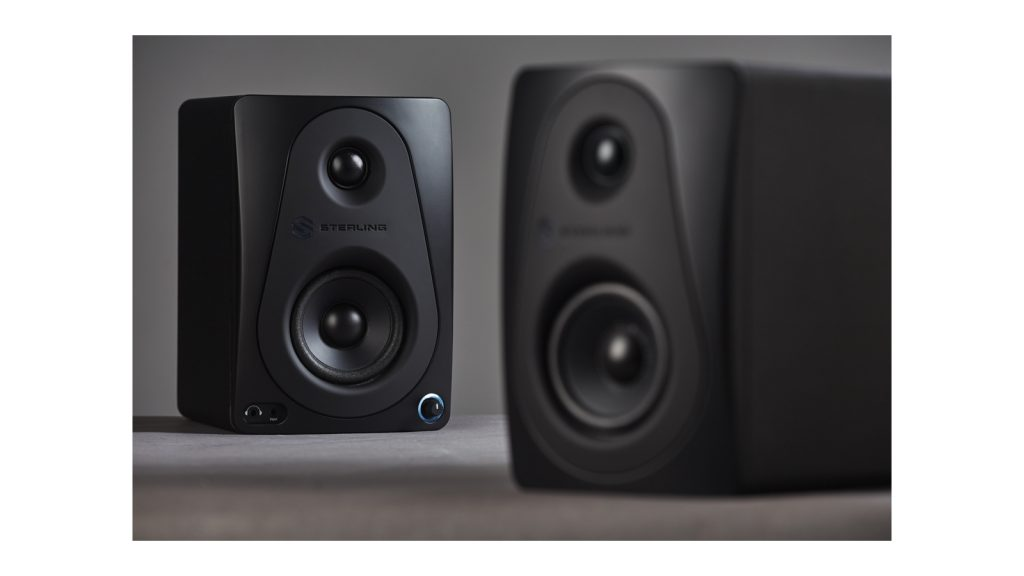 Sterling Unveils MX Black Series Powered Studio Monitors