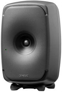 Genelec 8351B studio monitor front angle
