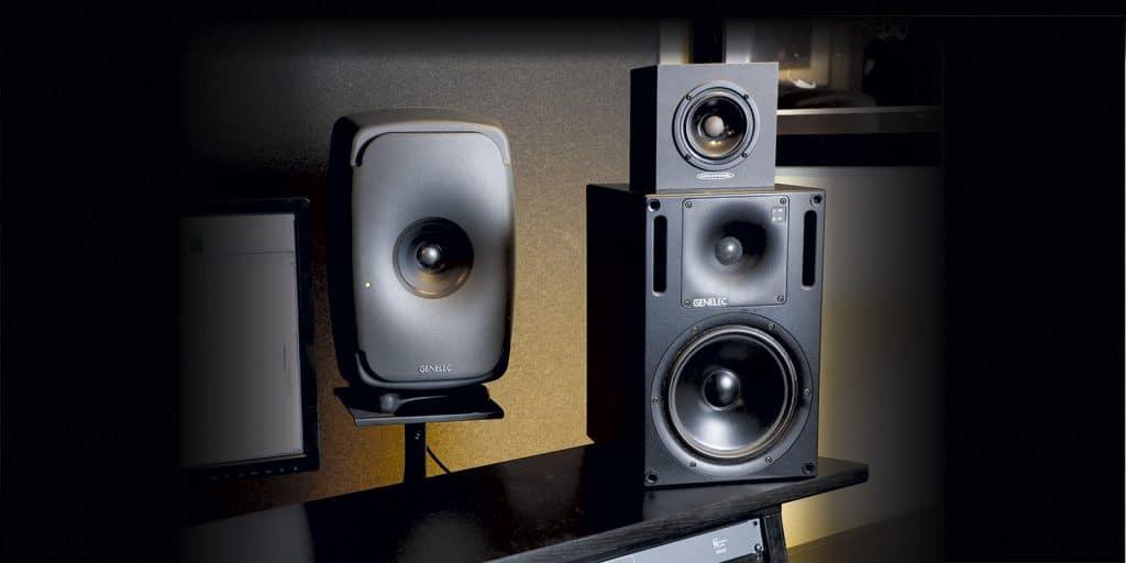 Genelec 8351B 'Ones' Studio Monitor group shot