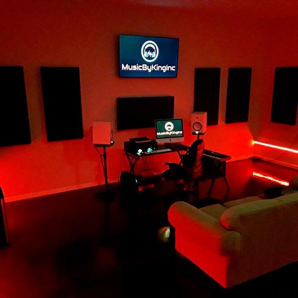 Sonny King studio