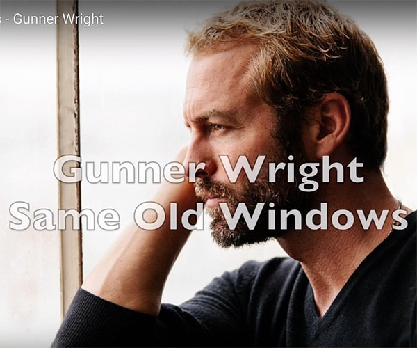 Gunner Wright Same Old Windows Album Art