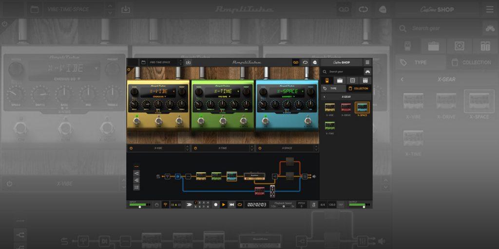IK Multimedia X-GEAR Pedals Amplitube5