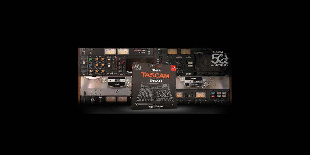 IK Multimedia Announces the T-RackS TASCAM Tape Collection