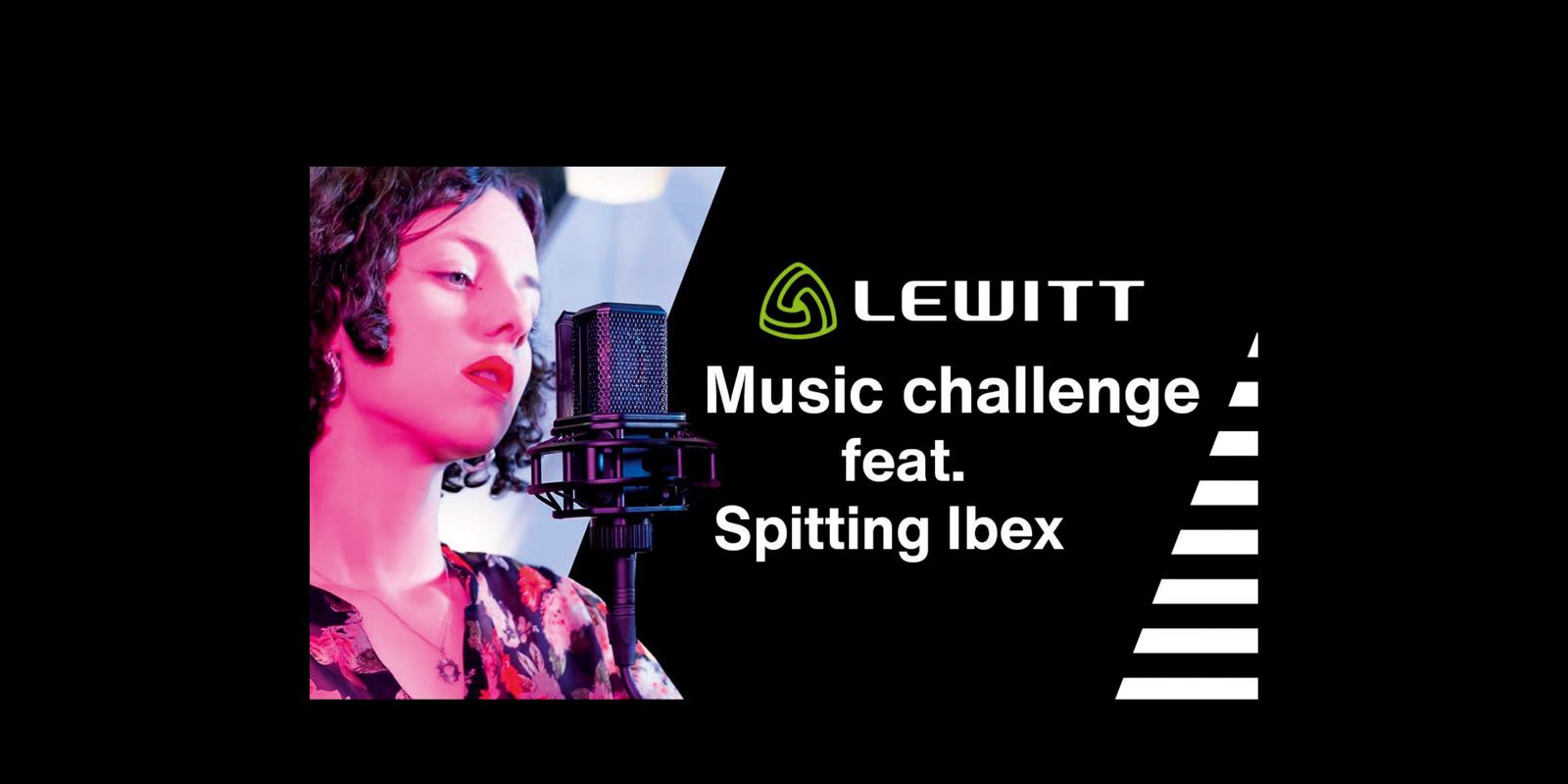 LEWITT music challenge Spitting Ibex