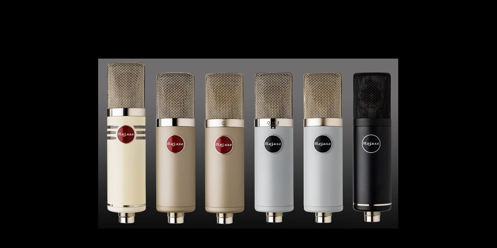 Mojave Audio Unveils New Colors for its Entire Microphone Range