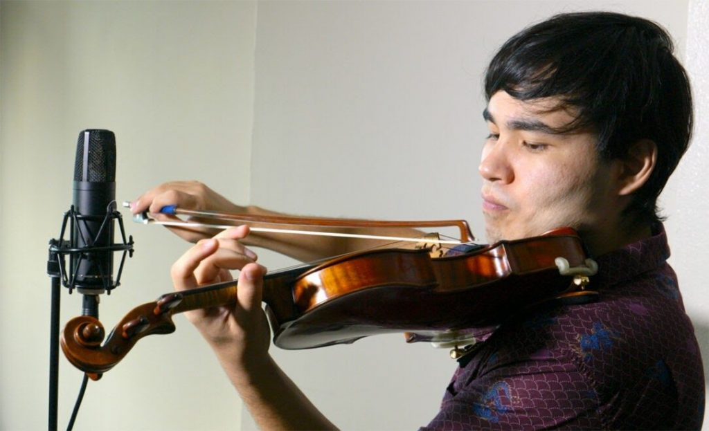 Eric Silberger, acclaimed violinist, instructor and media coordinator for Perlman Music Program — MA-50