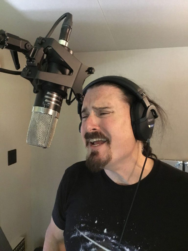 James Labrie, lead vocalist (Dream Theater) — MA-1000