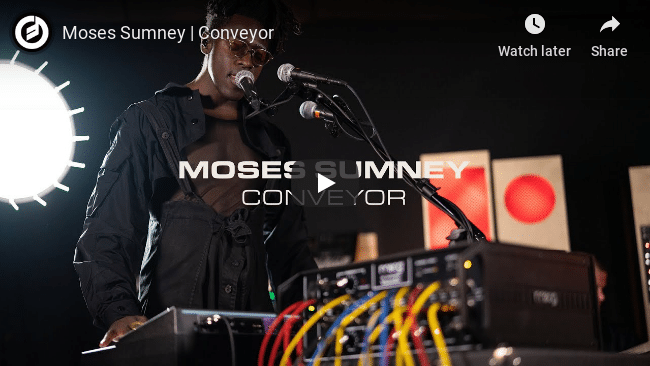 Moses Sumney Performs Conveyor Video Thumbnail