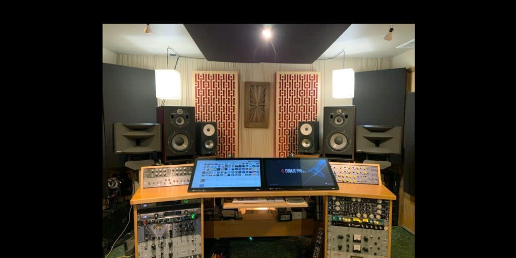 Ocean Wave Audio HR5 Monitor in studio