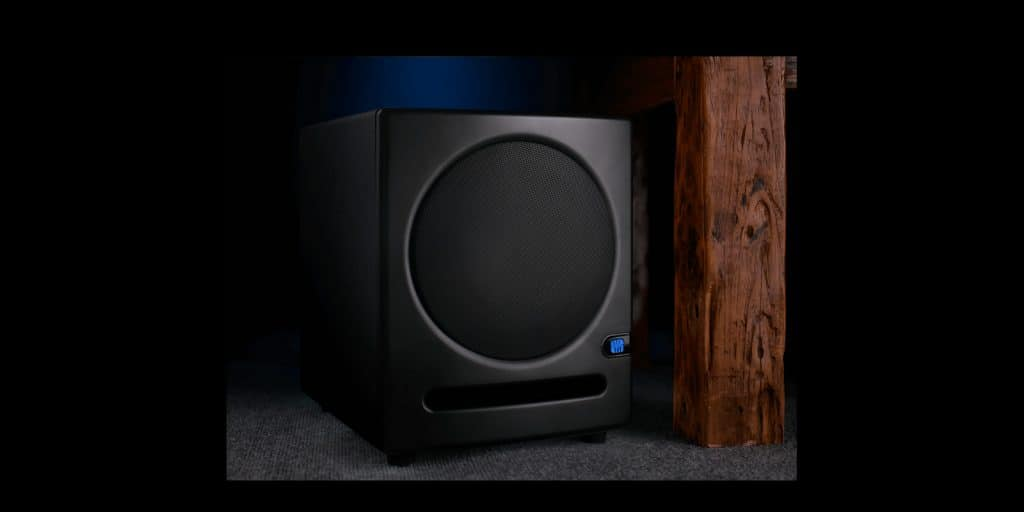 PreSonus Eris Sub8 Subwoofer Delivers Optimal Low End for Small Rooms
