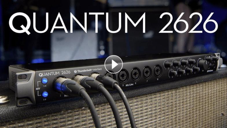 PreSonus Quantum 2626 Video