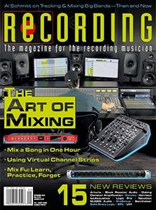 RECORDING Magazine Cover September 2020