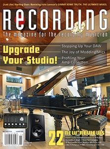 RECORDING Cover November 2020