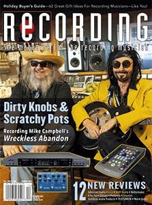 RECORDING Decmber 2020 Cover